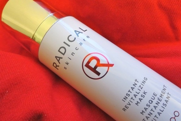 See Radical Skincare's Instant Revitalizing Mask in Action [VIDEO]