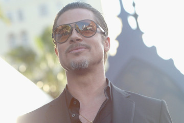 Someone Tried to Hurt Brad Pitt's Beautiful Face Last Night