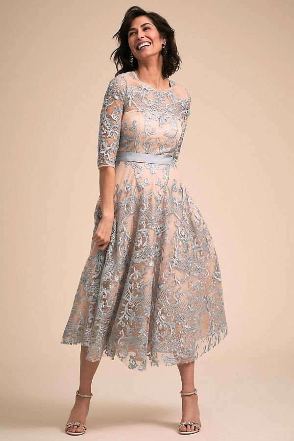 Cute Tea Length Mother Of The Bride Dresses