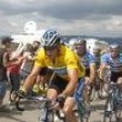 No, Lance Armstrong is a machine during the Tour de France, no one can stop him