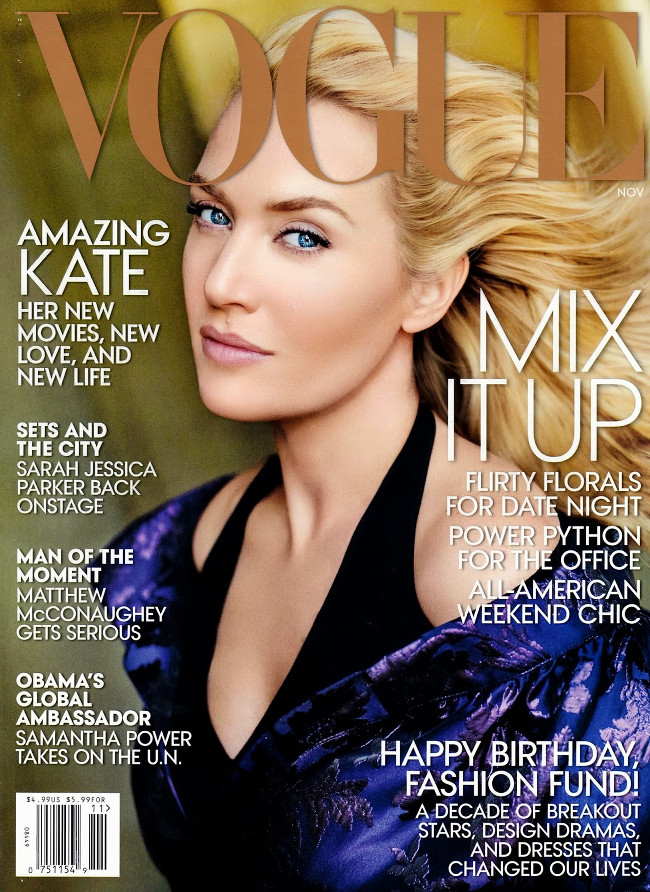 Kate Winslet's Crazy Photoshopped 'Vogue' Cover, Natalie Portman's Past as Audrey Hepburn, and More