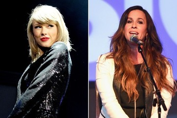 Taylor Swift Brings Alanis Morissette On Stage in a Battle of the Breakup Artists