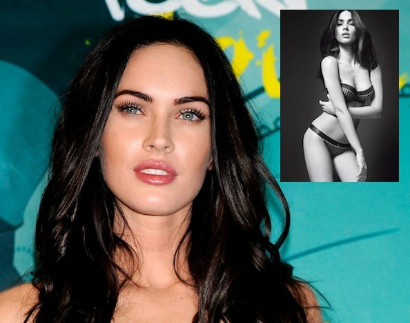 megan fox tattoos removed. Megan Fox#39;s Tattoos Digitally