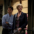 Jenna Elfman and Thomas Gibson, 'Two and a Half Men'