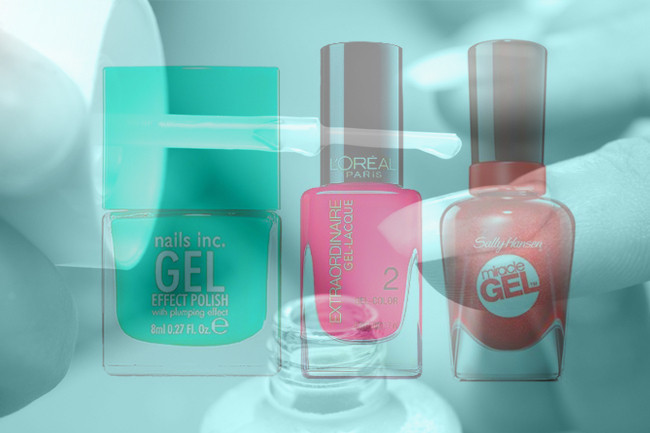 Now Trending for Nails: No-Light Gel Polishes
