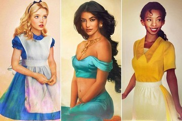 Whoa! Check Out These Photo-Realistic Disney Princesses