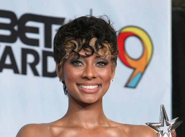 Tremendous Keri Hilson39S Hairstyles In Pictures Keri Hilson Hairstyles Zimbio Short Hairstyles For Black Women Fulllsitofus