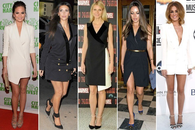 What Do You Think of the Blazer Dress Trend?
