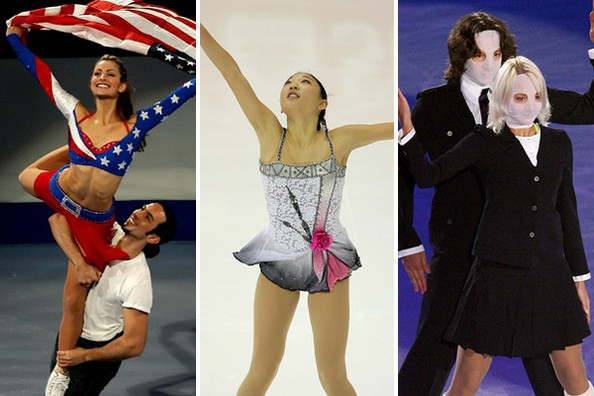 The Greatest Figure Skating Costumes Ever
