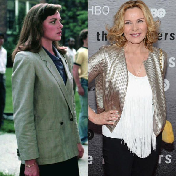 Kim Cattrall in 'Police Academy' - Then & Now: The Stars ... Kim Cattrall Now