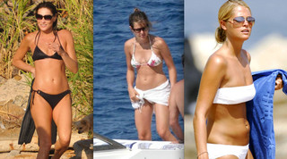 Celebrity Bikini Battle - Royals and Politicos
