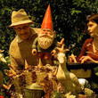 The traveling gnome was inspired by real-life events.