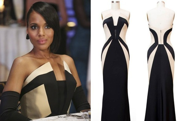 Found: Kerry Washington's Stunning Strapless Gown (From Scandal)