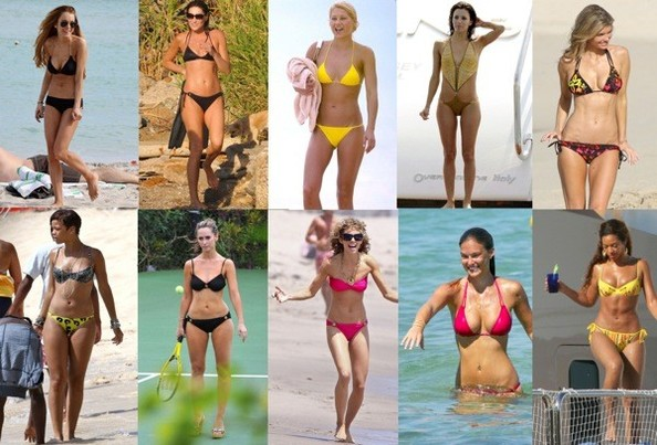 bikini hollywood actresses Photo