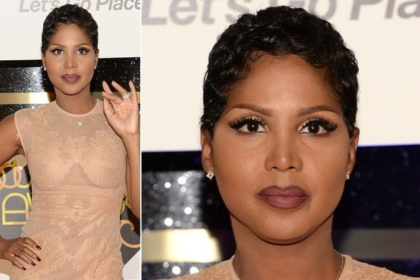 Want Your Lipstick to Last Longer? Try Toni Braxton's Simple Little Makeup Trick