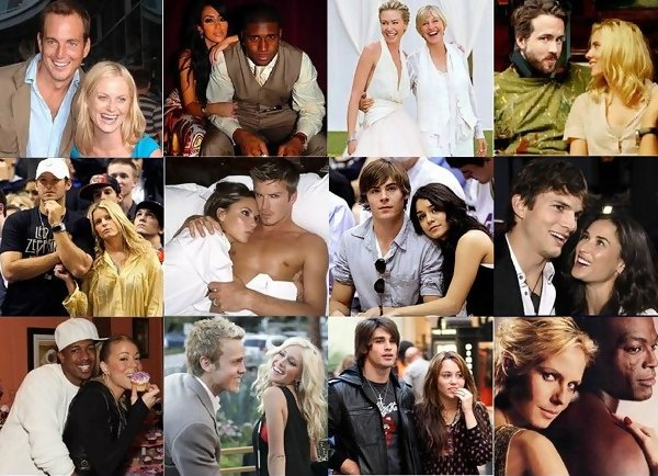 100 Hottest Celebrity Couples - Zimbio