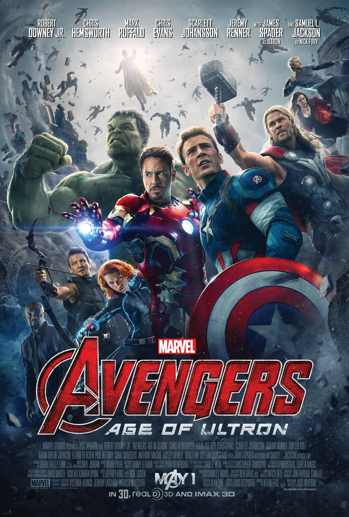 'Avengers: Age of Ultron' Knows You and Gives You What You Want