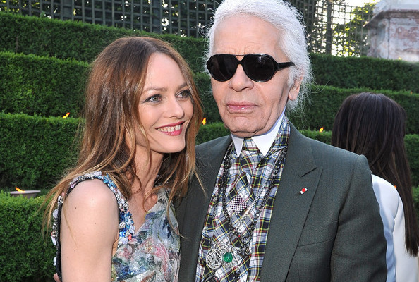 Karl Lagerfeld Plays Cupid for Vanessa Paradis