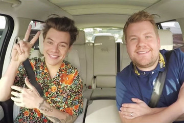 Treat Yourself to This Delightful Clip of Harry Styles Getting Emotional on 'Carpool Karaoke'