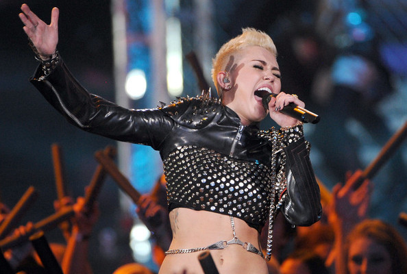 Miley Cyrus: The Month in Crop Tops