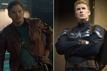 Star-Lord and Captain America Are Betting on the Super Bowl