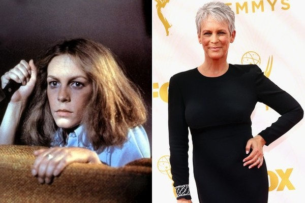 Jamie Lee Curtis Halloween 2020 Then And Now Jamie Lee Curtis (Laurie) from 'Halloween'   Then and Now