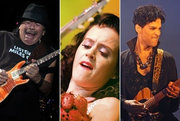 Famously Goofy Guitar Faces