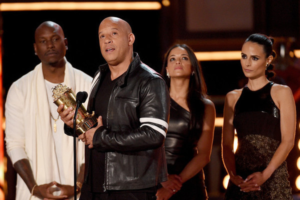 Vin Diesel dedicates MTV Award to 'brother' Paul Walker