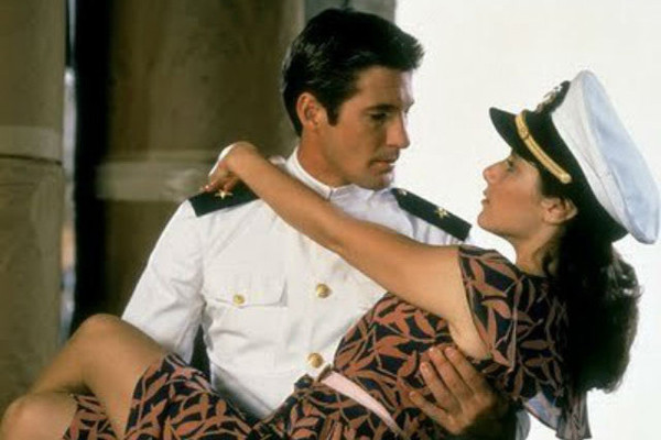 Richard Gere & Debra Winger – 'An Officer and a Gentleman ...
