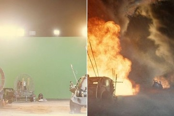 See the True Magic of Special Effects with These Before-and-After Shots from 'Mad Max'
