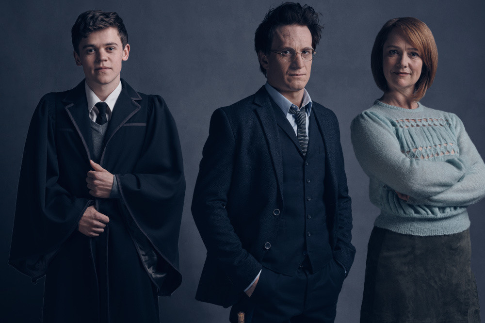 Here's What Albus, Harry, and Ginny Look Like in 'Harry Potter and The Cursed Child'