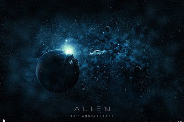 Celebrate the 35th Anniversary of 'Alien' with These Sweet New Posters