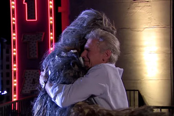 Harrison Ford And Chewbacca Finally Made Up After All These Years