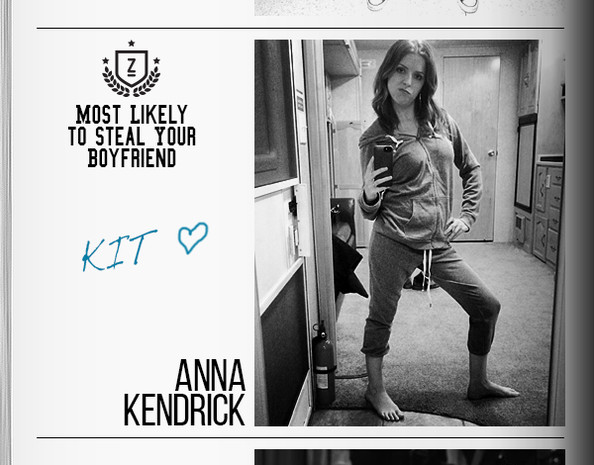 Gallery For > Anna Kendrick High School Yearbook
