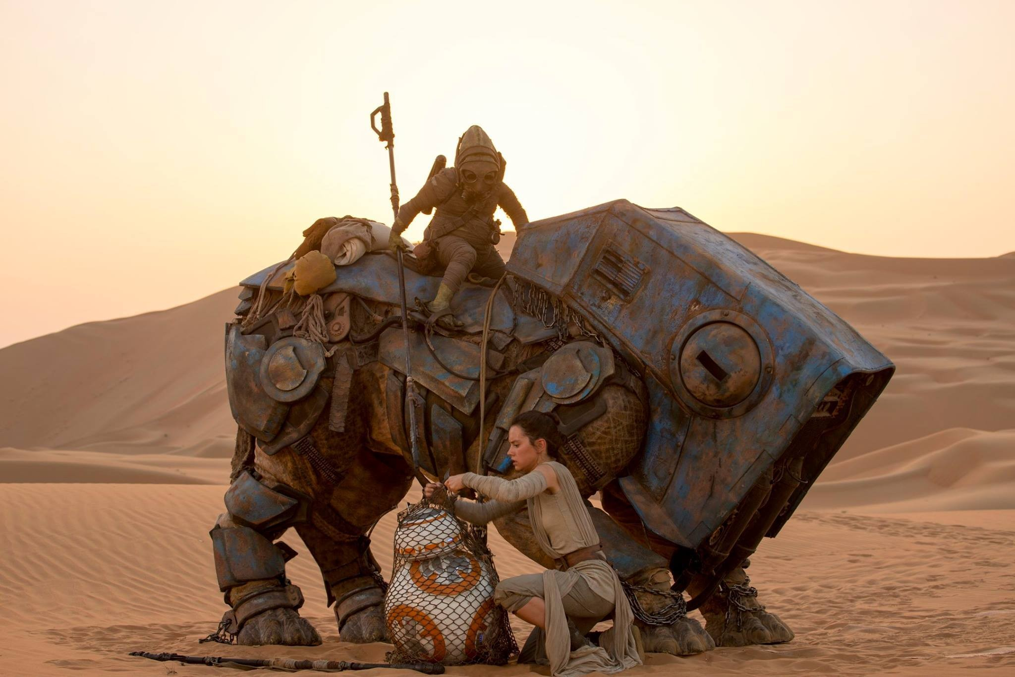 Rey and BB-8. (Walt Disney Studios Motion Pictures)