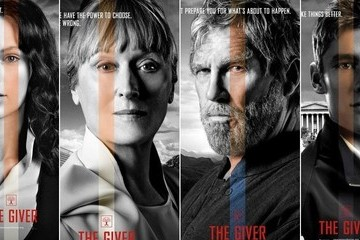 Check Out 8 New Character Posters for 'The Giver'