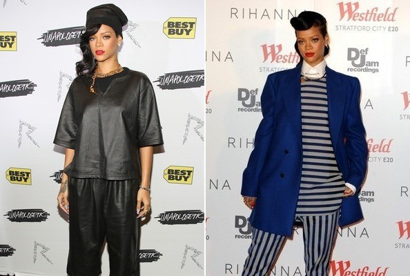 How to Hide That Thanksgiving Food Baby, Rihanna-Style