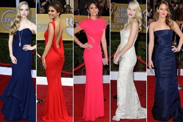 Guess: Who Wore the Most Popular SAG Awards Gown?