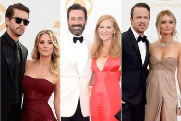 The Hottest Couples at the 2013 Emmy Awards