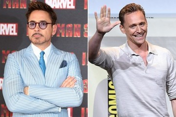 Robert Downey Jr. Welcomes Tom Hiddleston to Instagram with a Hiddleswift Joke