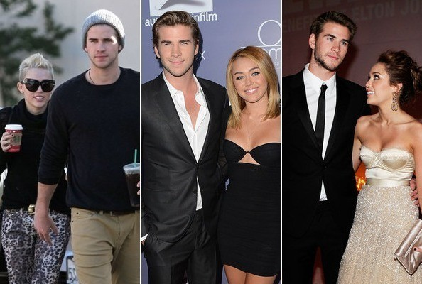 liam and miley relationship timeline dating