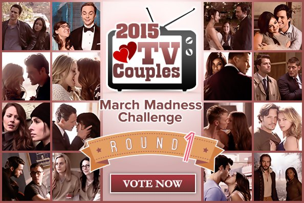 2015 TV Couples March Madness Challenge: Vote Now!