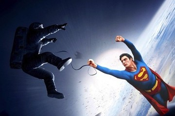 This Superman/'Gravity' Mashup Makes So Much Sense