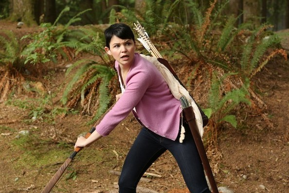 'Once Upon a Time' New Photos - Snow Kicks Butt