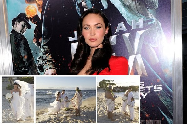 megan fox married to. (Getty Images) Megan Fox and