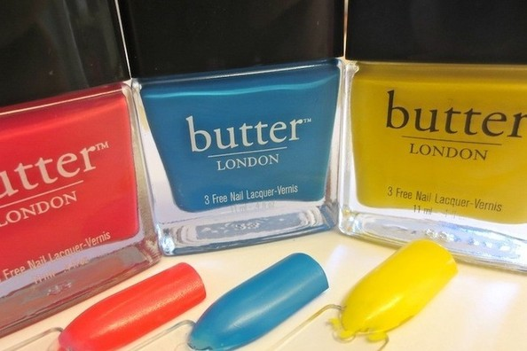 Summer Shades to Crave: Butter London's Boldly Bright Polishes