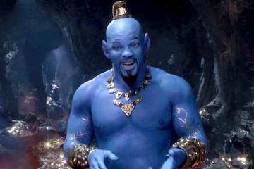 Disney Proves Will Smith's Genie Is Indeed Blue In New Live-Action 'Aladdin' Trailer
