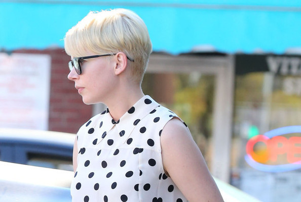 Look of the Day: Michelle Williams in Polka-Dots