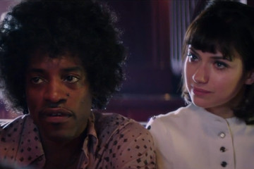 First Look: Andre 3000 as Jimi Hendrix in 'All Is by My Side'