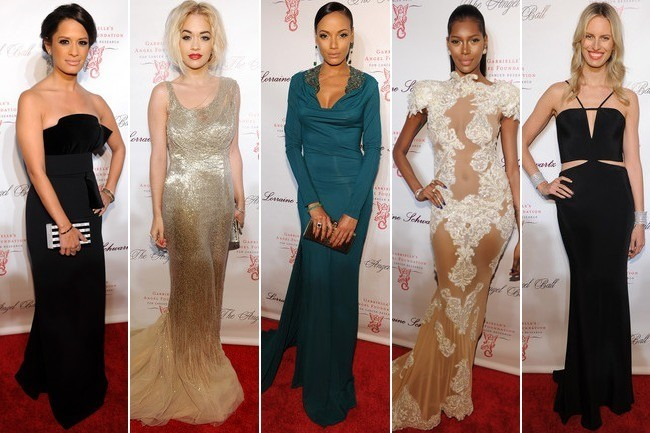 Who Was the Best Dressed at the Angel Ball? Vote!